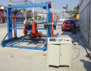 Circular blade double blades timber sawmill,portable swing blade sawmill