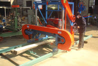 MJ1000 band saw horizontal wood cutting sawmill aserradero portatil, portable swing blade sawmill