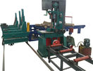 China Wood sawmill band sawing machine, Vertical Band Saw Sawmill With Log Carriage factory