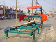 MJ1000 diesel portable sawmill,wood working horizontal band saw mills, log cutting bandsaw