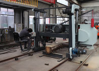 Real Factory !!! Large Size Sawmill Horizontal Bandsaw Mill Wood Cutting Band Saw Machine