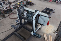 Heavy duty MJ2500 Large Timber Band Sawmill Electric Log Bandsaw Mill with big saw wheel