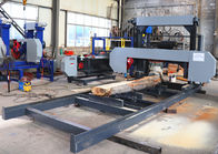 MJ1000/MJ1300/MJ1600D Horizontal Band Saw to cut wood logs into cookies