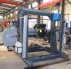 Horizontal sawmill portable /portable band saw diesel powered