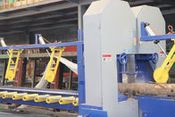 Twin vertical bandsaw mill double cut sawmill Equipment for log edges cutting