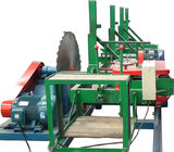 China Round Log Circular Sawmill Hard Wood Timber cutting Saw With Carriage factory