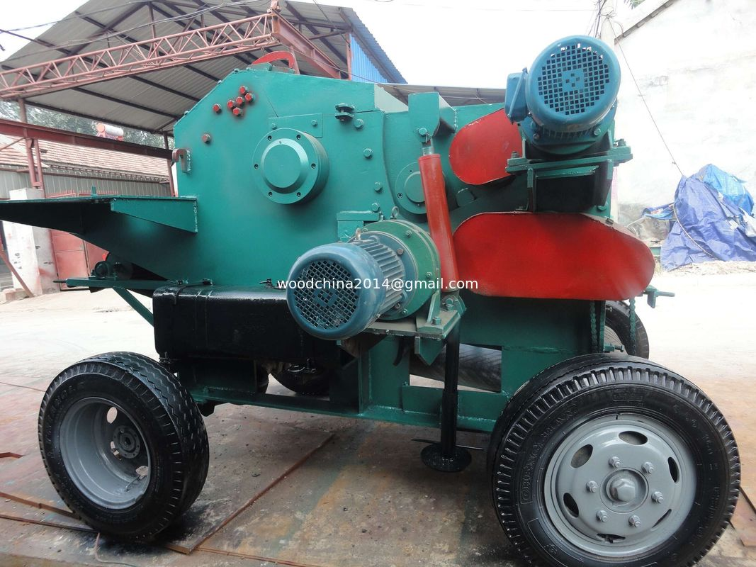 industrial shredder chipper tree branch chipper machine wood grinding crusher machine