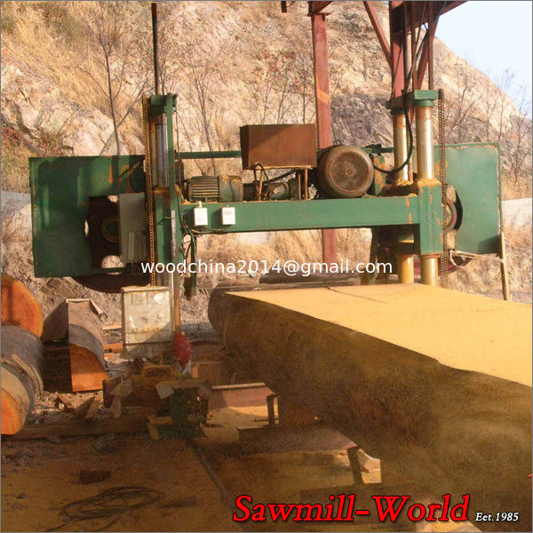 Large timber band saw machine wood band saw mill log band for Mill log