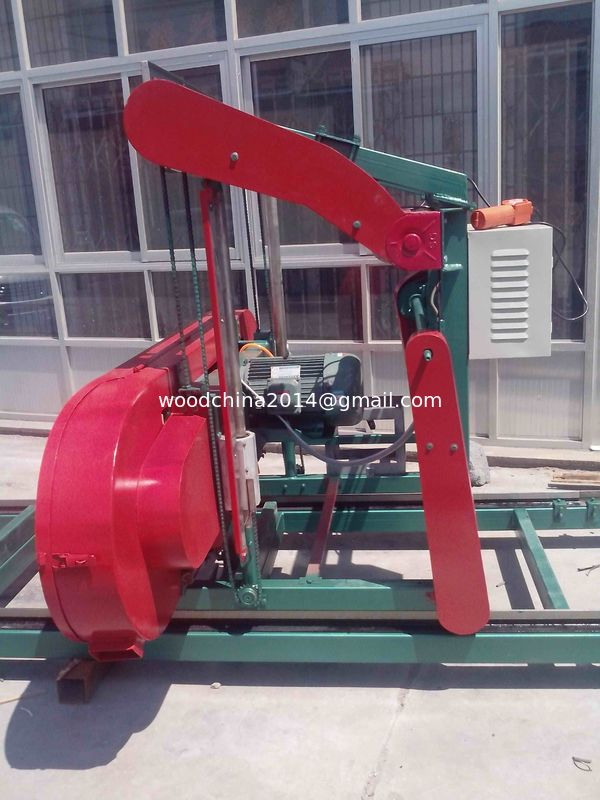 China Sawmill Wood Machine Electric Band Saw Timber Harvester Portable ...