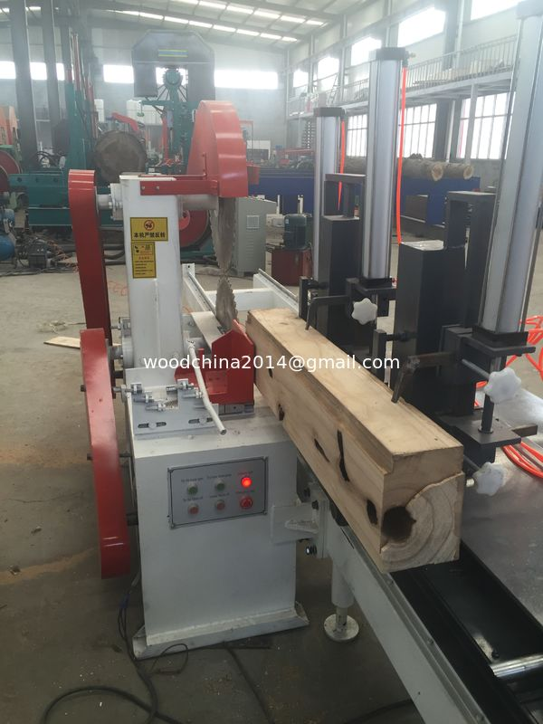 Powermatic table saw for sale Double Circular Blades Sawmill dia.400mm Log cutting