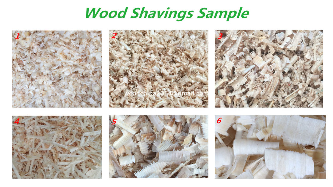 Timber Processing Wood Shaving Machine For Chicken Bed