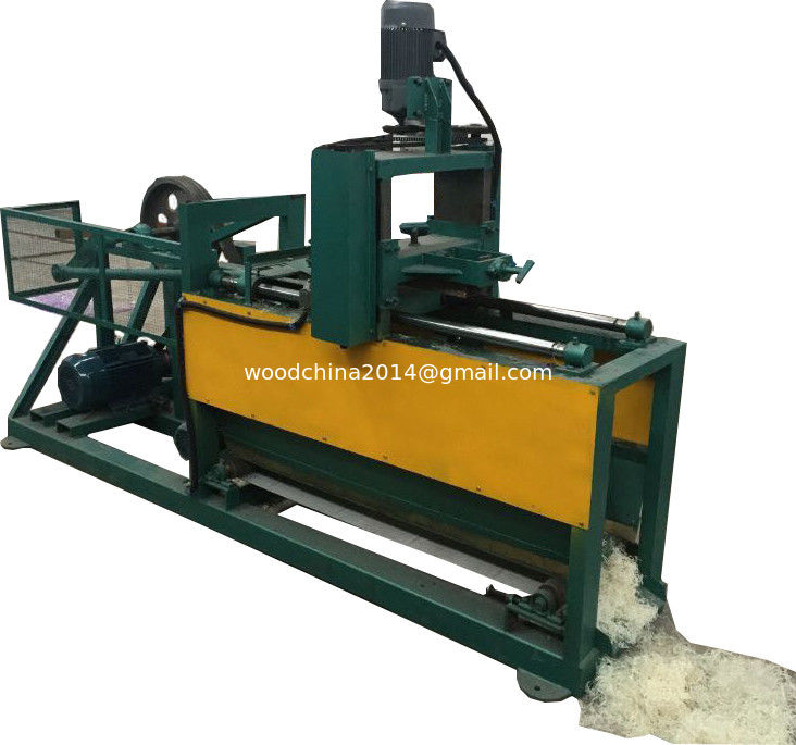 China Wool Processing Woodwool Machinery/ Log excelsior making machine