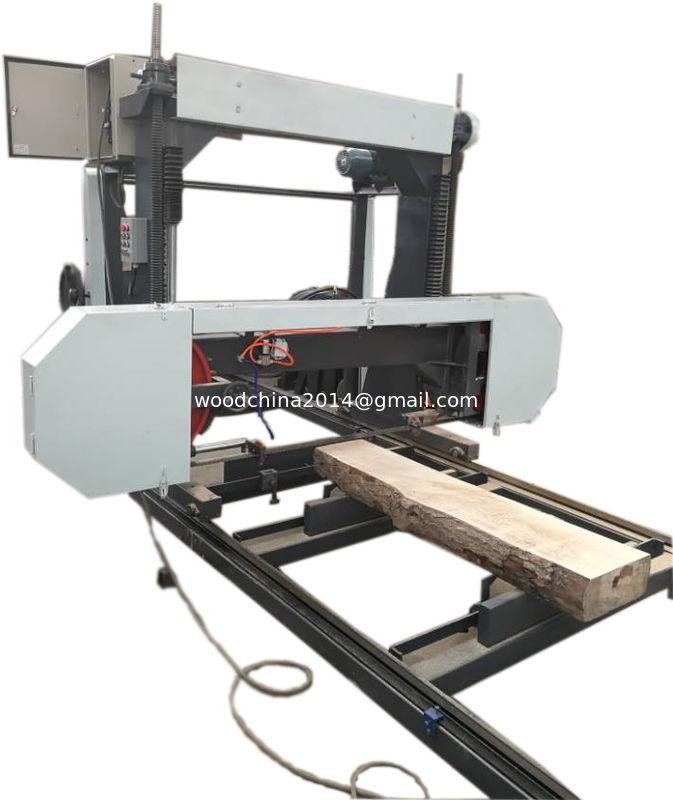 Portable Sawmill Diesel Horizontal Mini Bandsaw Machine