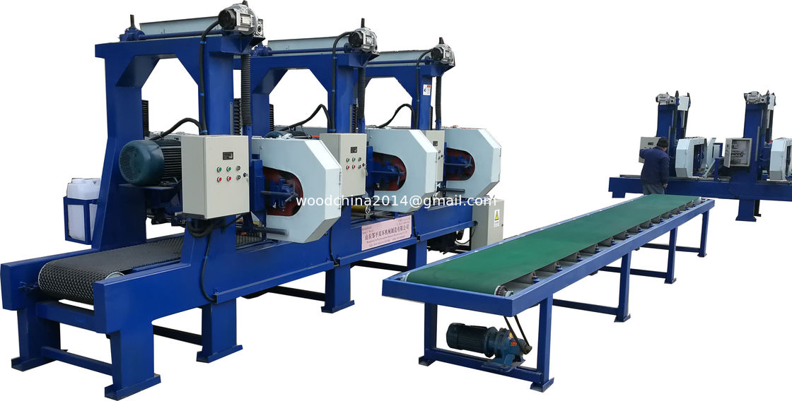 Horizontal Band Saws Mill For Sawing Wood Multiple Sawmill Machine,5 saw mill machine