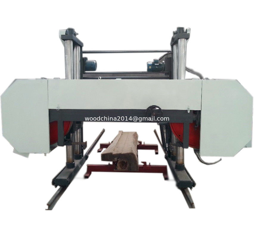 heavy duty bandsaw horizontal mill machine for wide large diameter tree logs