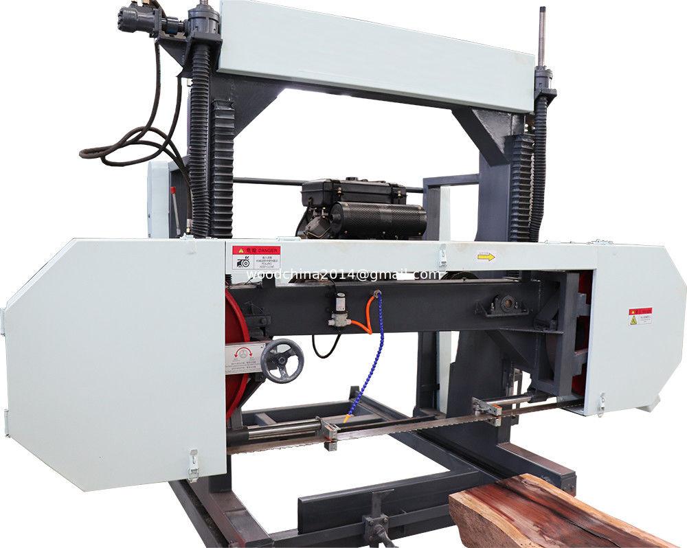 Portable sawmill horizontal diesel band saw / Portable