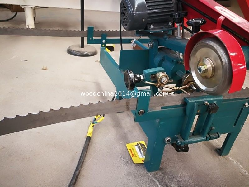 Carbide wood saw blade grinding machine /bandsaw sharpening