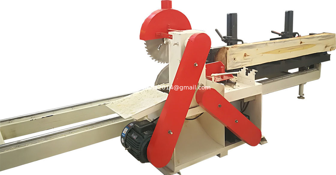 Double Circular Blades Plank Making Sawmill Machine Wood Log Saw