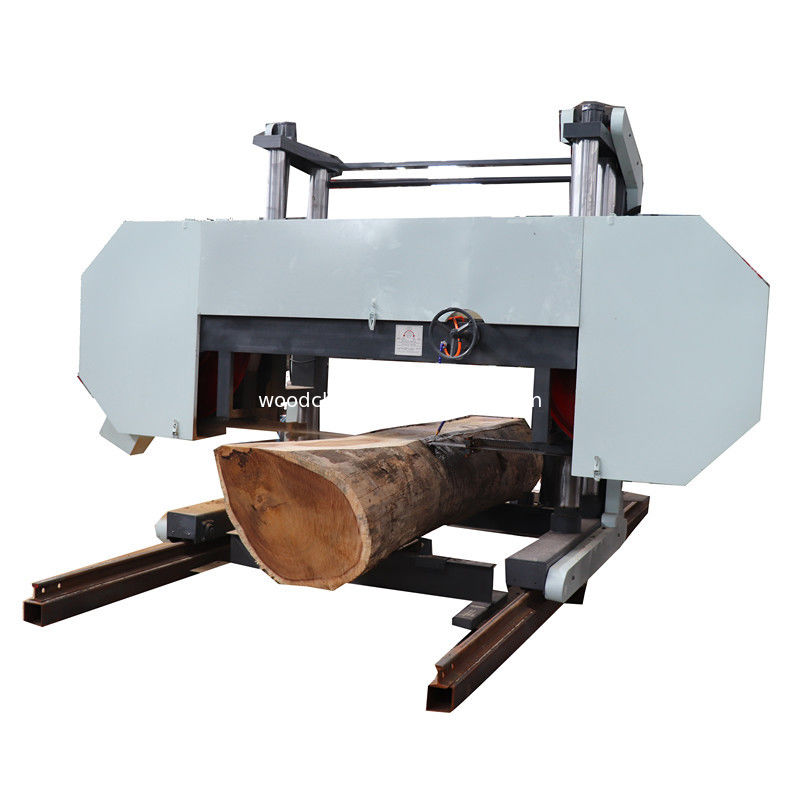 "55 KW Electric Powered 100 "" Heavy Duty Large Wood Cutting Band Saw Sawmill Machine"