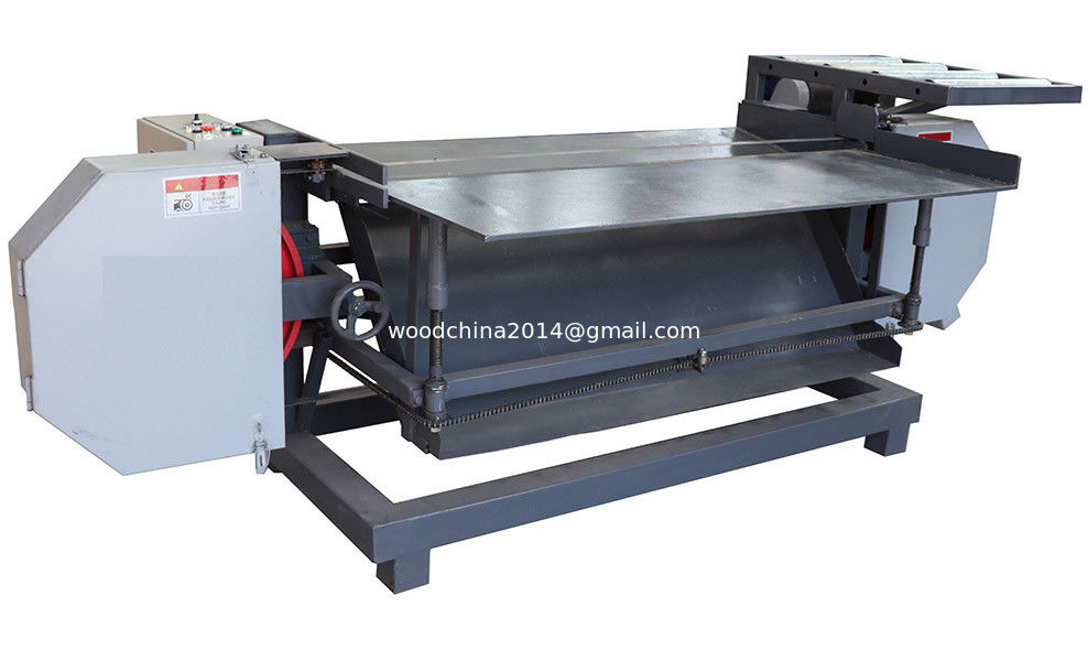 7.5kw electric motor wood pallet dismantling machine, dismanter with horizontal working table