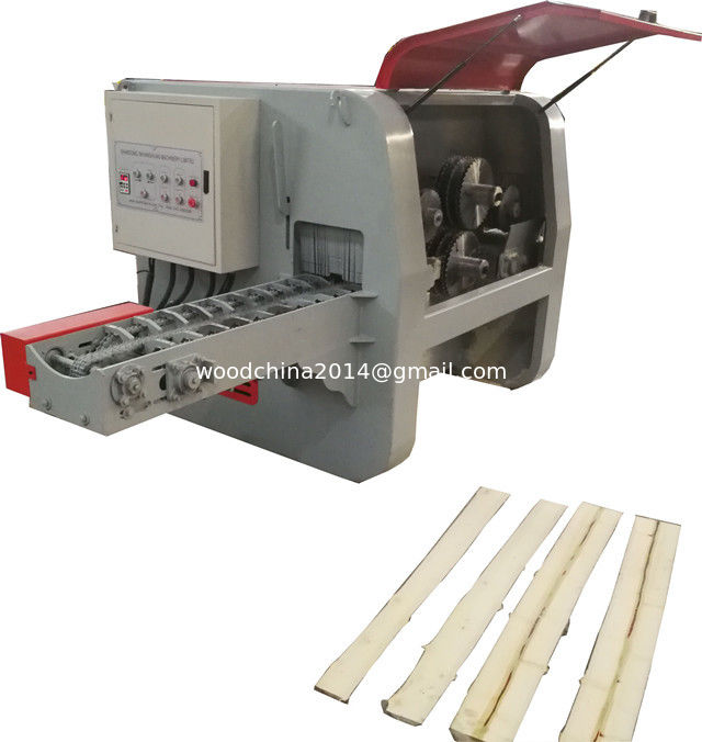 Double Spindle multiple blade ripsaw/ Multi Rip Circular Saws for log planks cutting