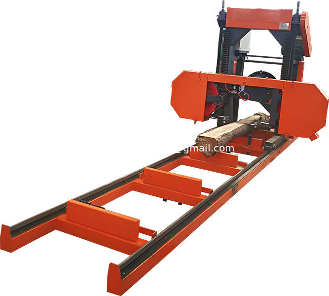 Portable Lumber Band Saw Woodworking Horizontal Log Bandsaw Mill