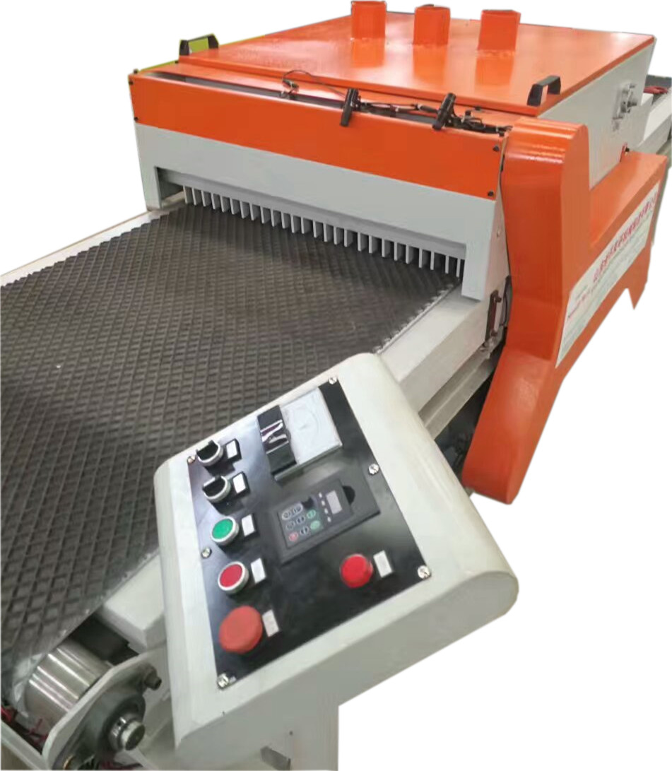 Twin Blade Board Edger Saw, Wood Cutting Multiple Blades Edger RipSaw Machine