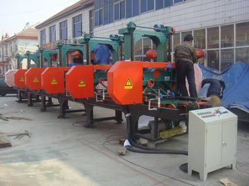 China Electric Industrial used multi head horizontal resaw band saw machine distributor