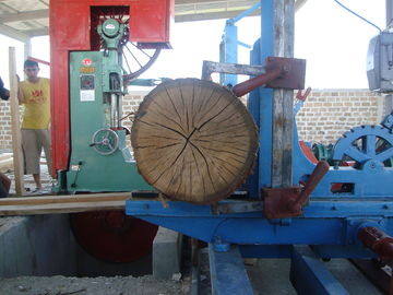 China MJ329 Vertical Band Sawmill with Log Carriage /Manual or electric feeding vertical band saw distributor
