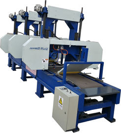 China Multi Head Band Sawmill For Sale Horizontal rosewood Cutting Band Saw Multiple Head Horizntal wood Band distributor