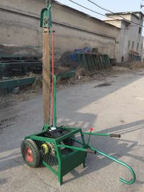 China Portable Wood Cutting Chainsaw mill for sale, Wood Slasher cutter off chain sawmill distributor