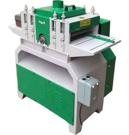 China Multiblade circular saw machine , Multiple blades sawmill multi blade wood Rip saw machine factory