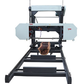 China Horizontal Timber Bandsaw Portable Wood Band Saw Mill, Forest Mobile bandsaw factory