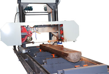 China Shandong Horizontal Wood Portable Band Saw Sawmill Log Sawing Machine factory