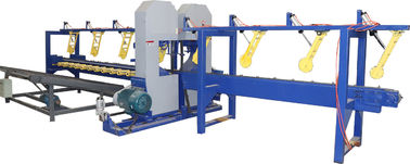China Twin Heads Industrial Saw Mills, Log Processing Euipment Twin Band Saw distributor