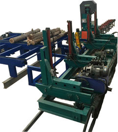 China Big log cutting used Vertical bandsaw Mills Machine with Automatic CNC Carriage distributor