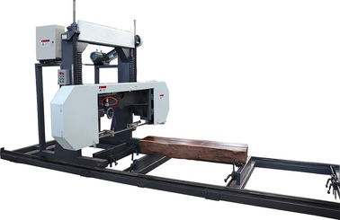 China Portable horizontal band saw mill woodworking machinery band saw,diesel portable sawmill distributor