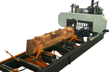 China Heavy Duty Hydraulic Horizontal Band Sawing Machine For Large Wood distributor