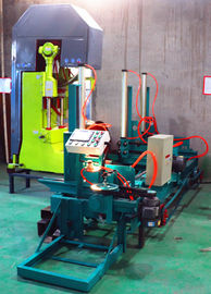 China Electric Vertical Band Saw Log Cutting Band Sawmill with CNC carriage For Sale distributor