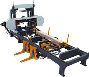 China Hydraulic horizontal band sawing machine saw mills for automatic wood cutting distributor