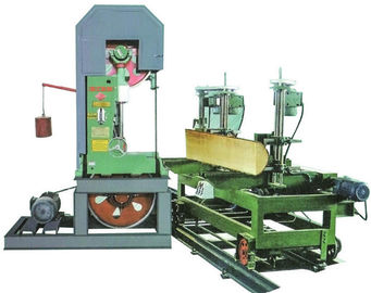 China Log Cutting Vertical Band Sawmill With foundation Timber sawmill Machine For Sale factory