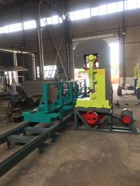 China China Made Vertical Saw Mill, Timber sawing vertical band saw sawmill machine with trolley factory