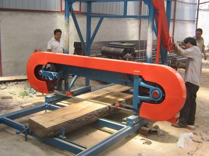 portable wood saw mill machine