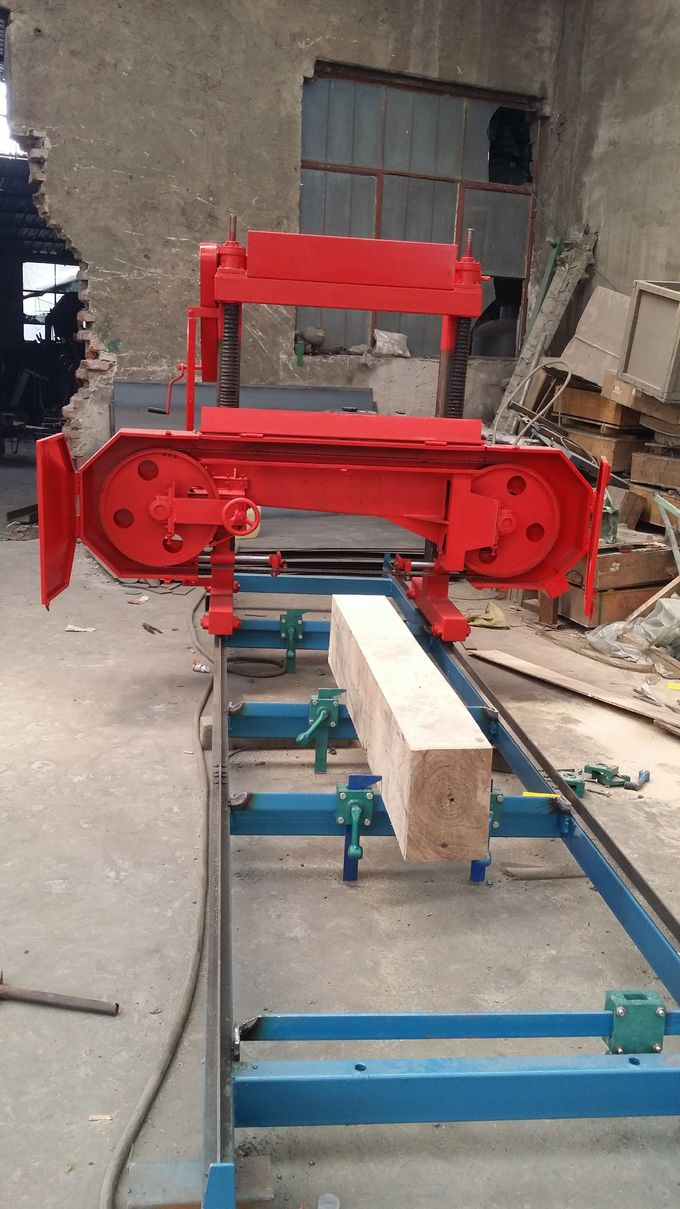 Wood Mill Machine ~ Wood horizontal band saw mills forest machinery portable