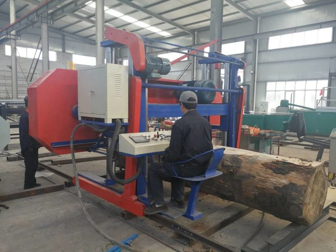 Log Band Sawmill Large Wood Saw Heavy Duty Saw Mill Machine For Hard Timber