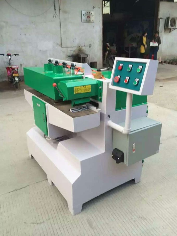 Single Spindle Multiple Blade Rip Saw Machine /Multirips Saw for planks