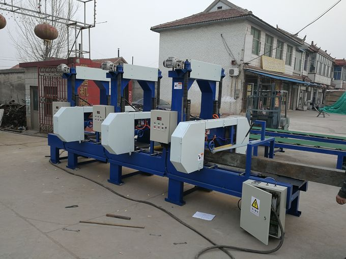 Cheap Price Multi Head Band Sawmill For Sale Multiple Heads Resaw Bandsaw Machine