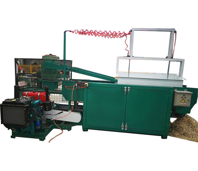 Automatic Electric Wood Shaving Machine For Poultry