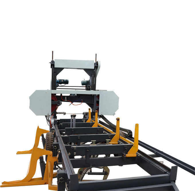 Automatic Portable Horizontal Bandsaw Sawmill machine with hydraulic