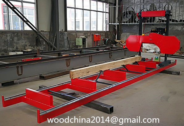 Portable sawmill wood cutting band saw machine/ portable wood cutting band saw sawmill